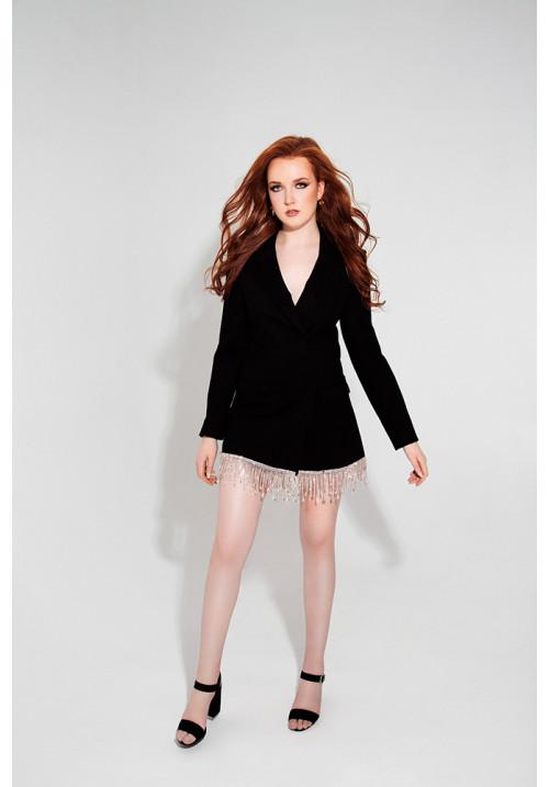 Black dress-jacket