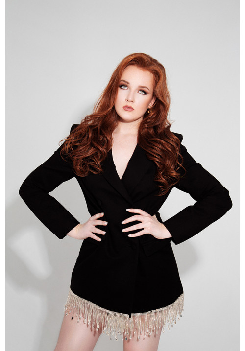 Black dress-jacket